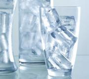 Kilo vermek için buzlu su için