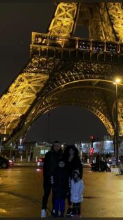 Paris'te sömestir tatili...