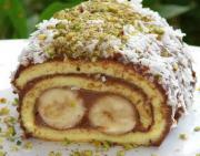 Ev Yapımı Rulo Yaş Pasta