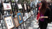 Elazığlı kadınların hat ve kaligrafi sergisi beğeni topladı