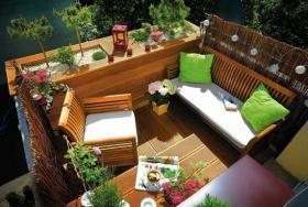 Küçük balkonlar için eğlenceli dekorasyon önerileri