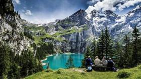 Muhteşem doğasıyla büyüleyen şehir Switzerland