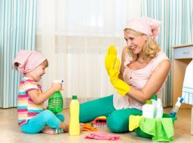 Çocuklu evlerde temizlik nasıl olmalı