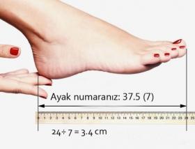 İdeal topuk yüksekliğinizi kilonuza göre hesaplayın