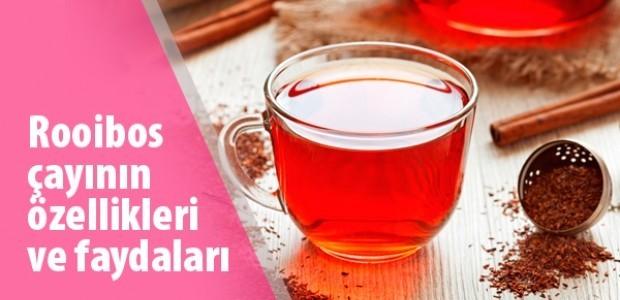 Rooibos çayının özellikleri ve faydaları